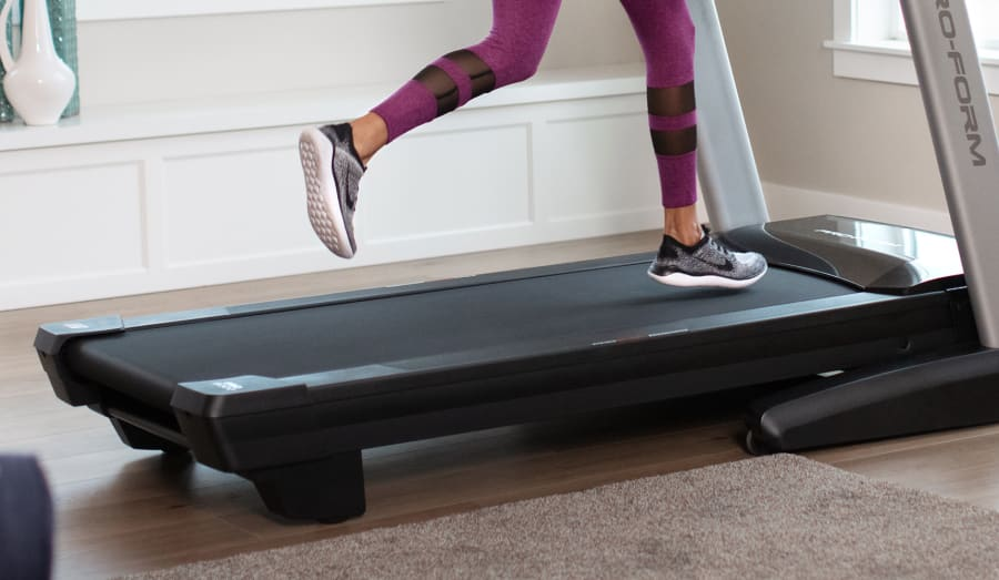 image of the tread belt of the SMART Pro 9000 treadmill