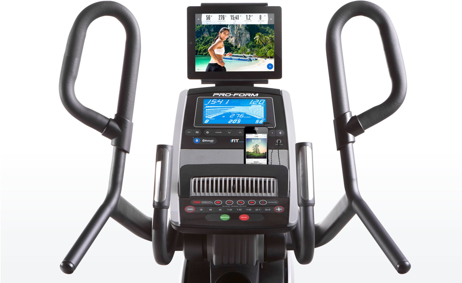HIIT trainer console