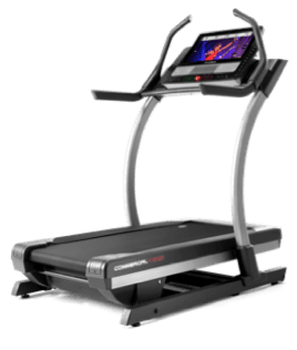 NordicTrack Incline Treadmill in down/running position