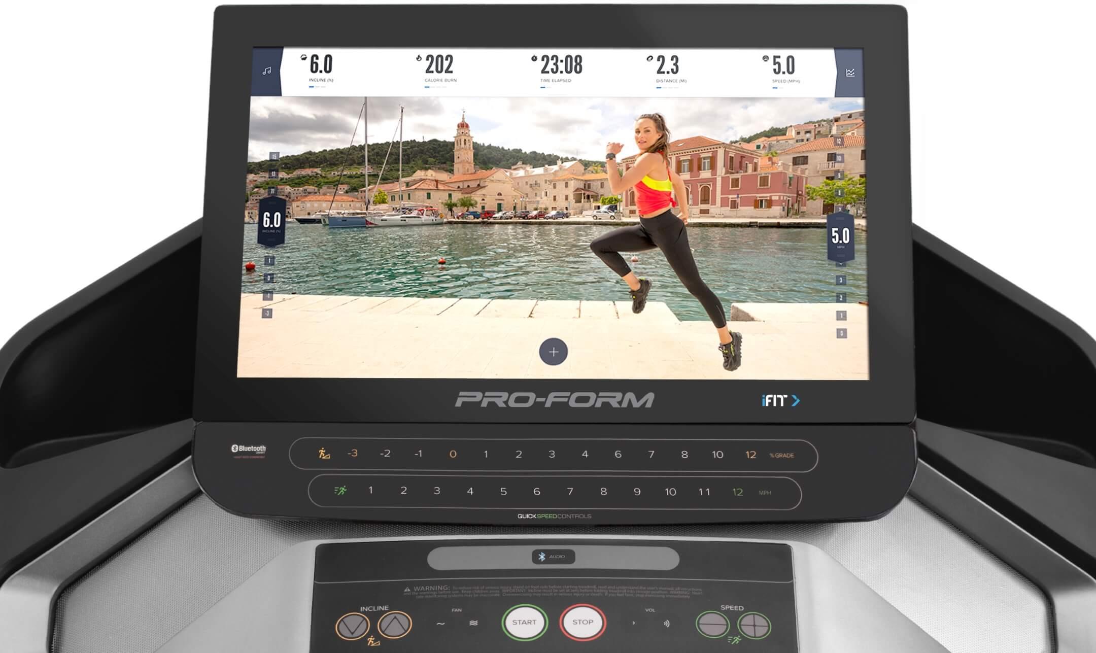 ProForm Pro 9000 Treadmill Main Console