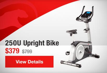 250U Upright Bike / $379