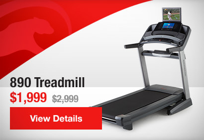890 Treadmill / $1,999