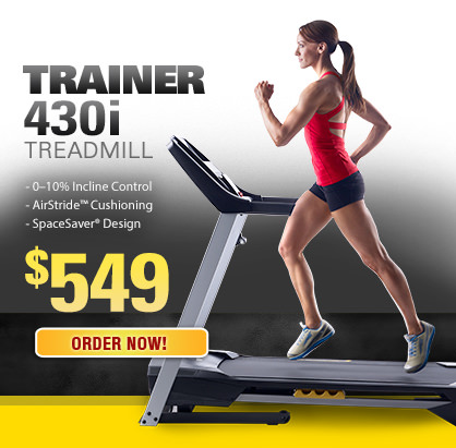 Treadmill Trainer 430i for $549