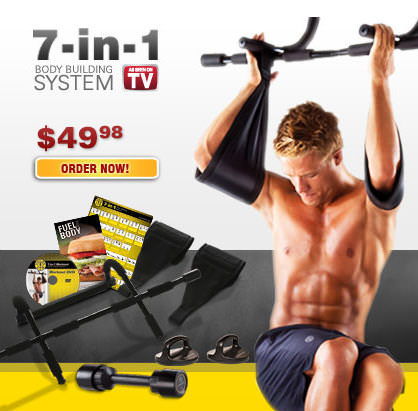7-in-1 body-building system for $49.98