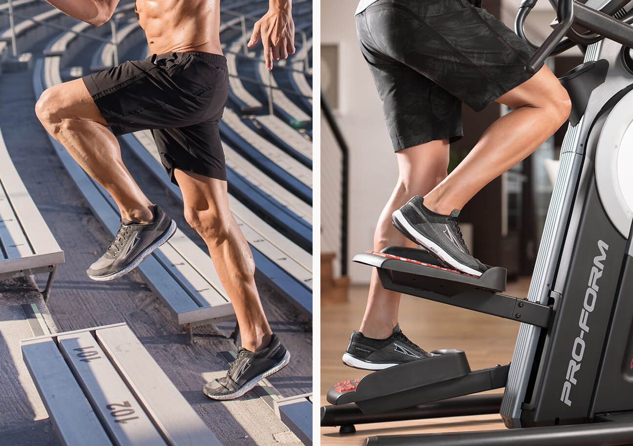 image of the lower body workout of the HIIT Trainer Pro