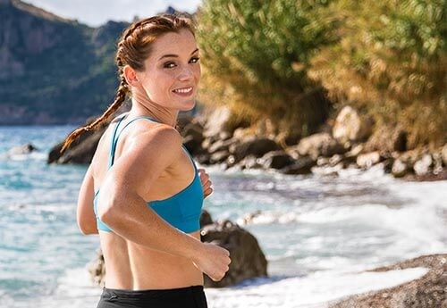 image of a scenic location of an ifit workout