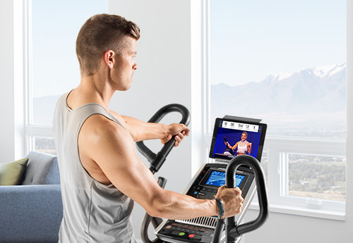 man using the HIIT Trainer