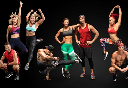 Variety of trainers on iFit