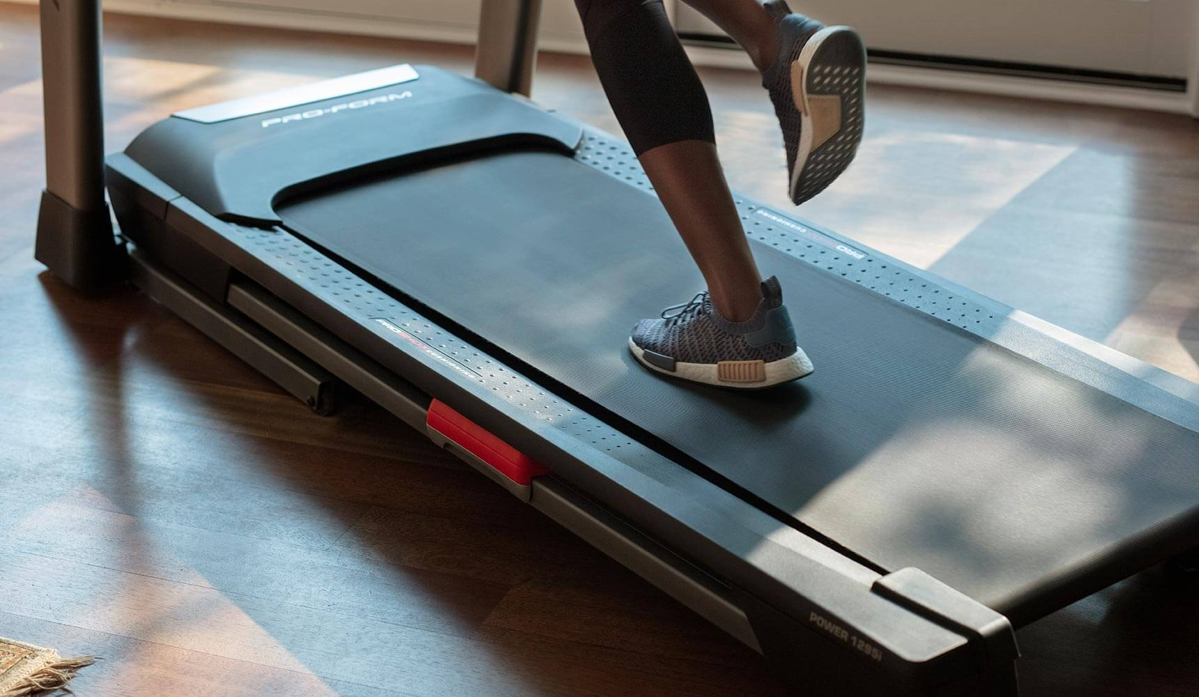 image of the tread belt of the Power 1295i treadmill