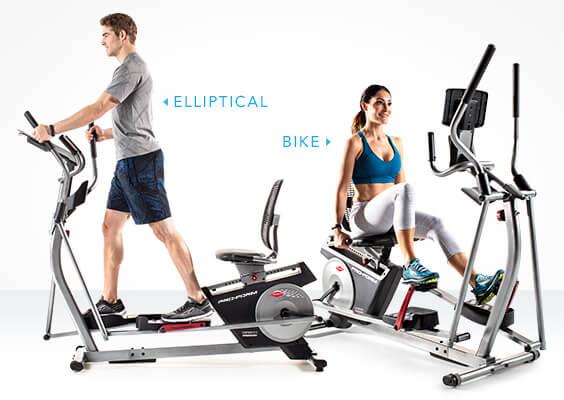 Two Machines in One — Bike + Elliptical